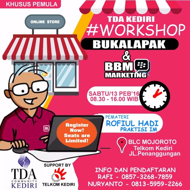 tda kediri workshop