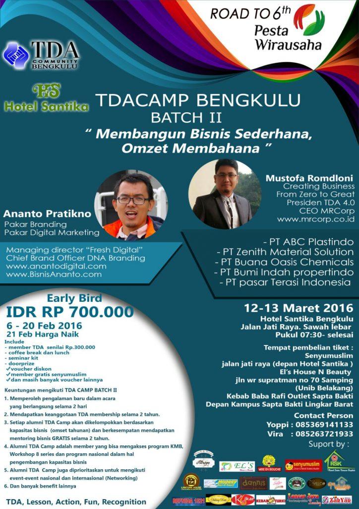TDA Camp Bengkulu #2