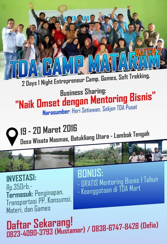 TDA Mataram Camp