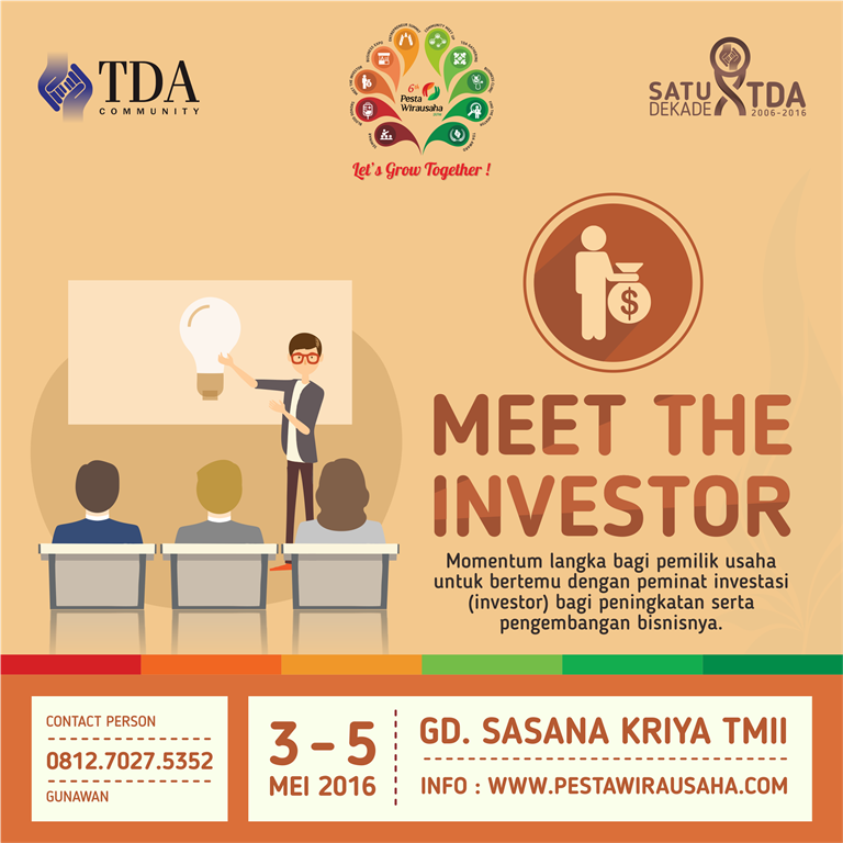 meet the investor PW 2016