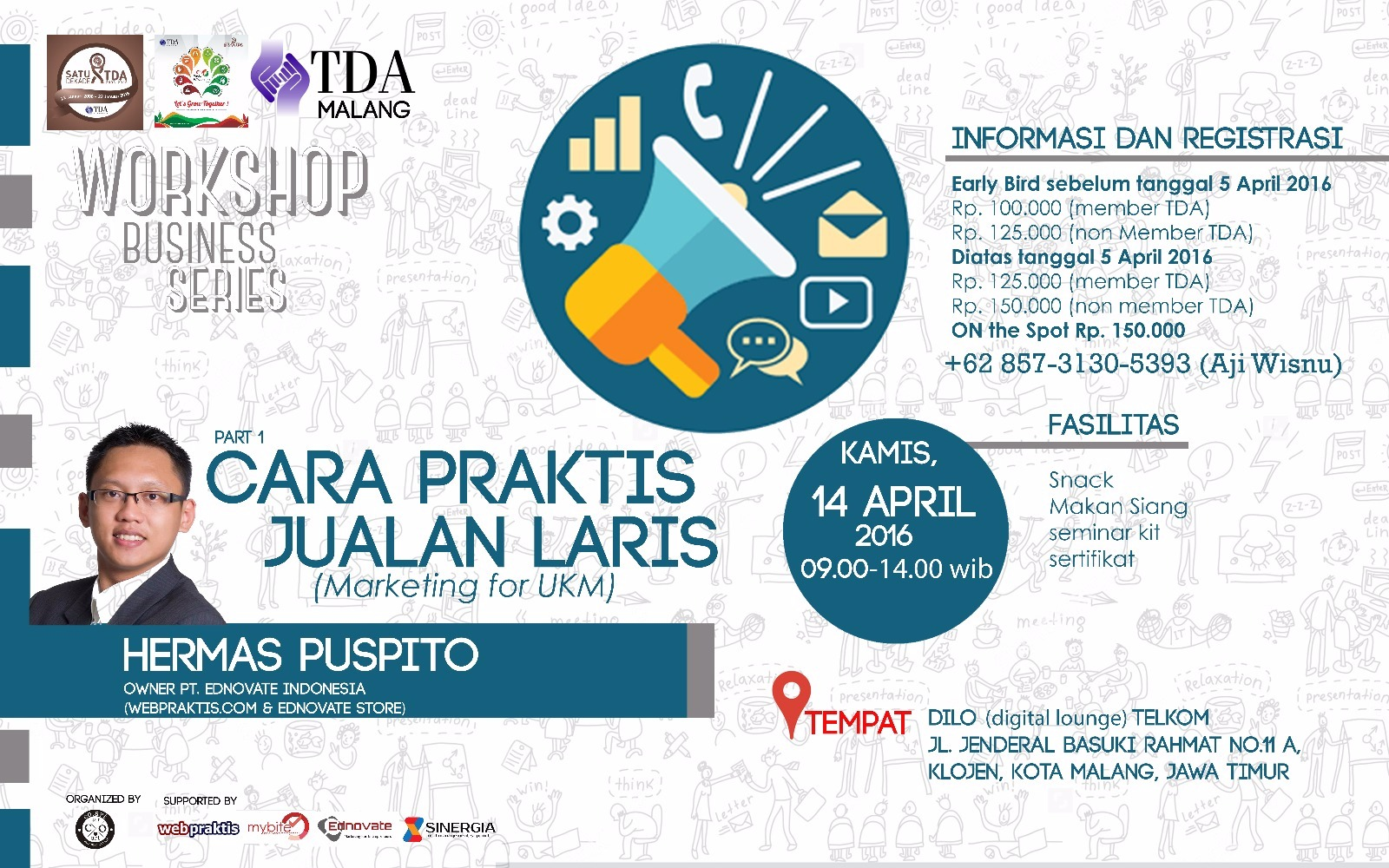 wshop Marketing TDA Ngalam