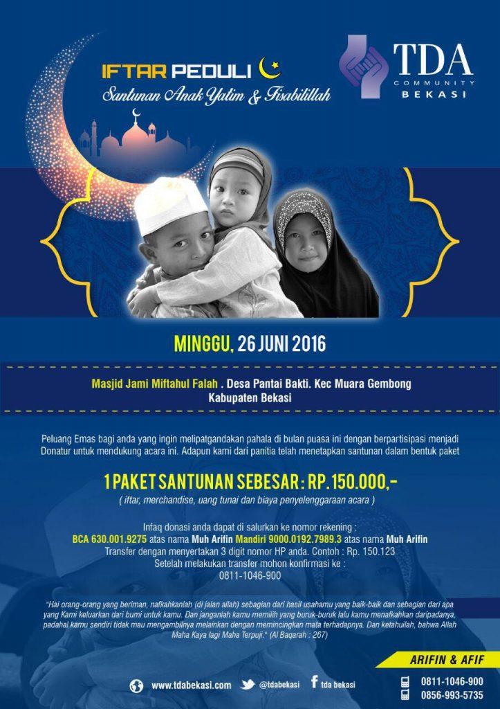 TDA Bekasi Iftar