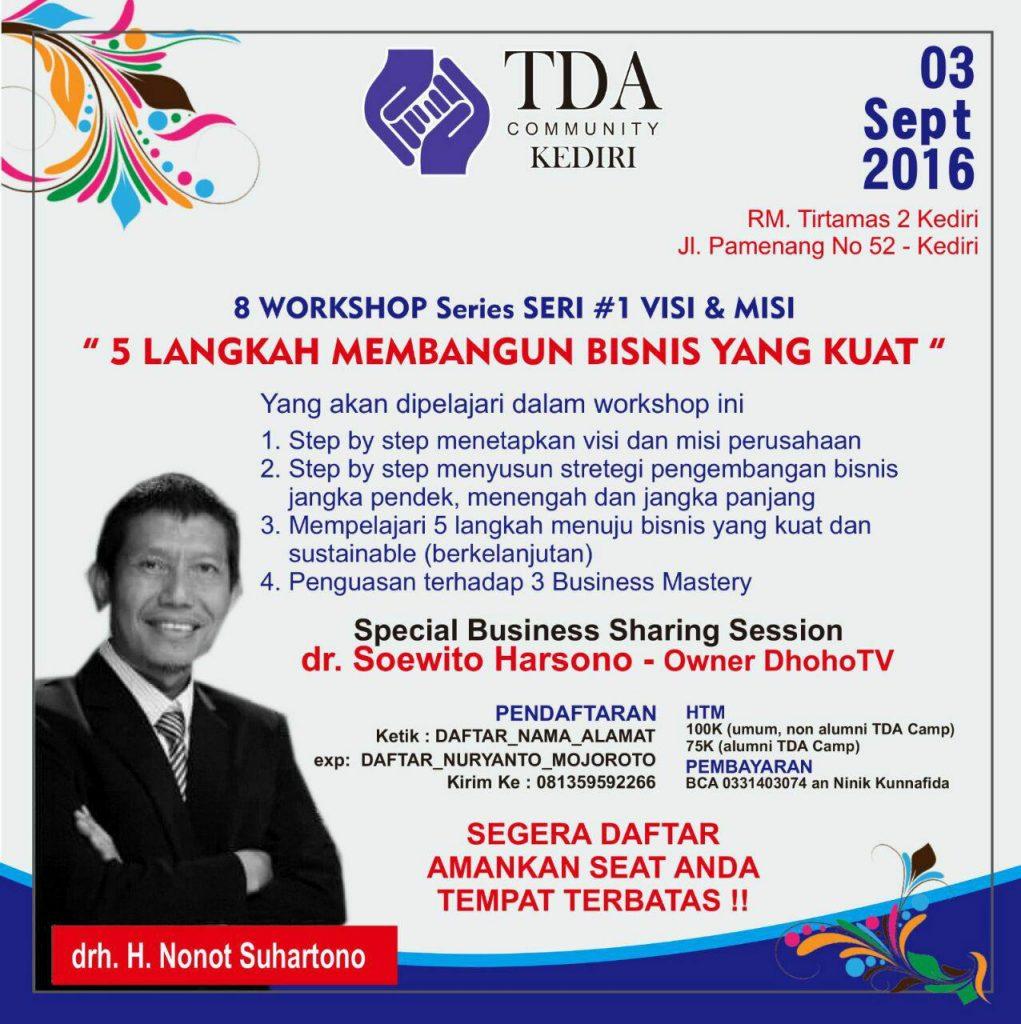 TDA Kediri 8 wshop series