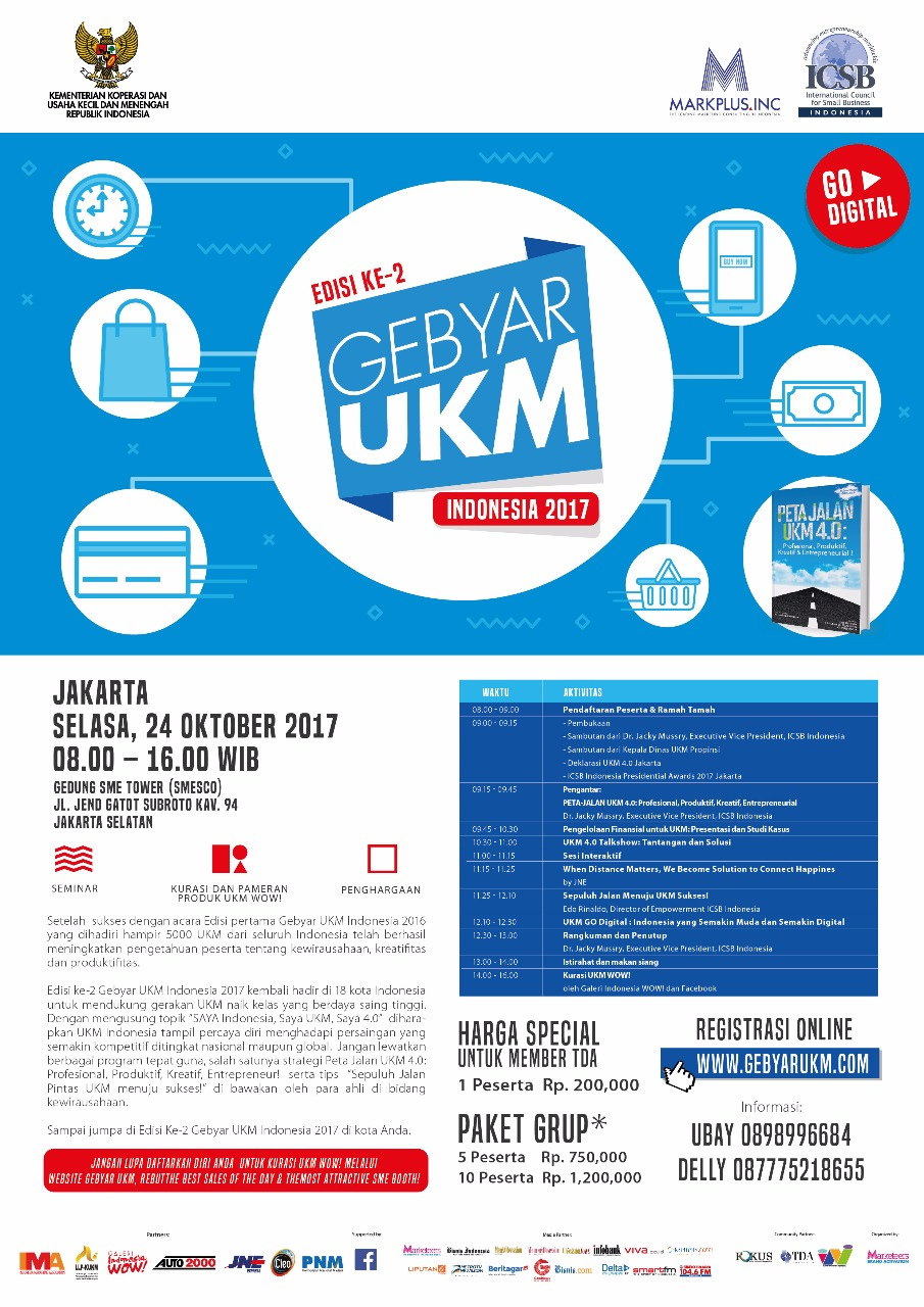 Gebyar UKM Indonesia 2017,Komunitas Tangan Di Atas ...